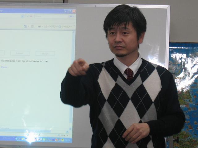 大杉豊講師