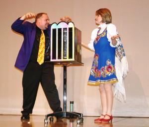 モーガン氏とリリアナさん(2008年)