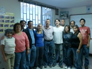 グアテマラろう協会の皆さんと一緒に