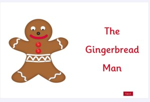 gingerbread man-300