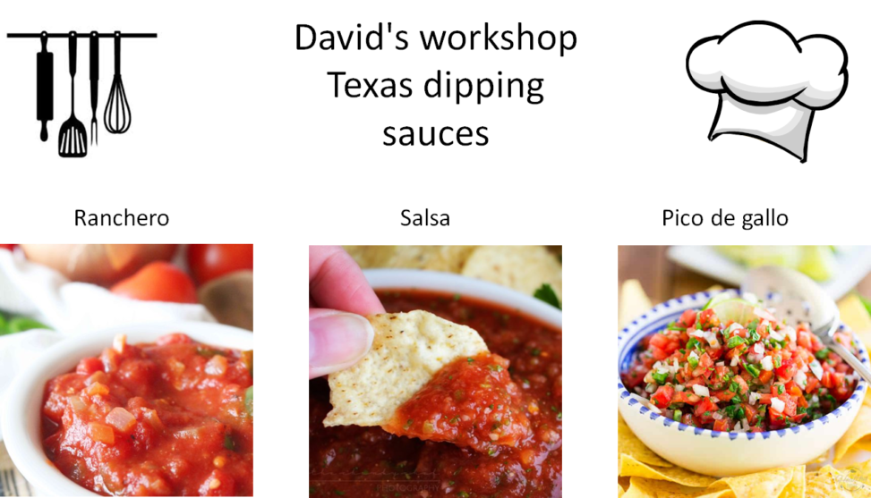 Sauce 3種類のソース
